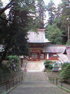 貫前神社の雷神